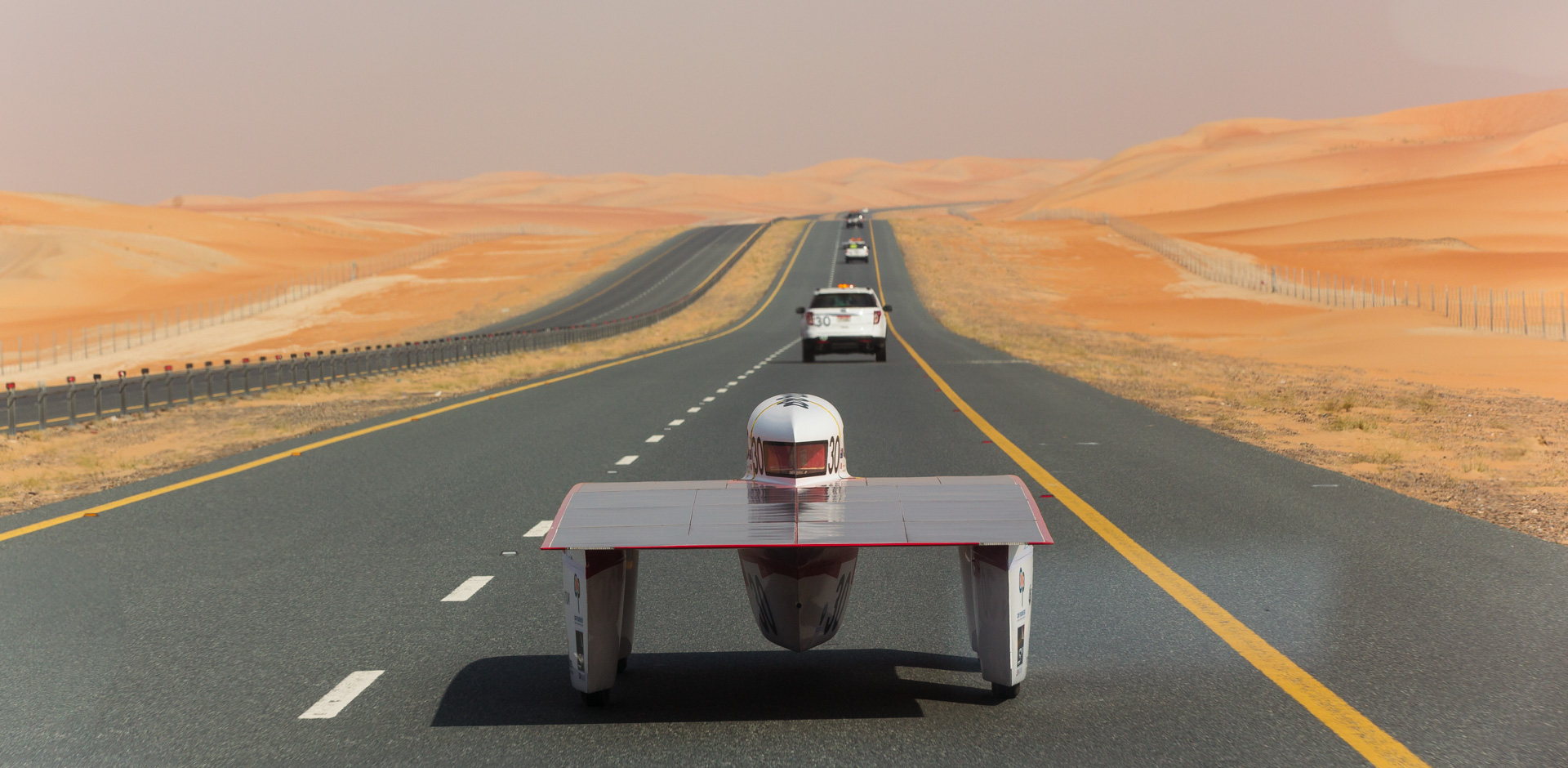 Photo of Tritium in World Solar Challenge