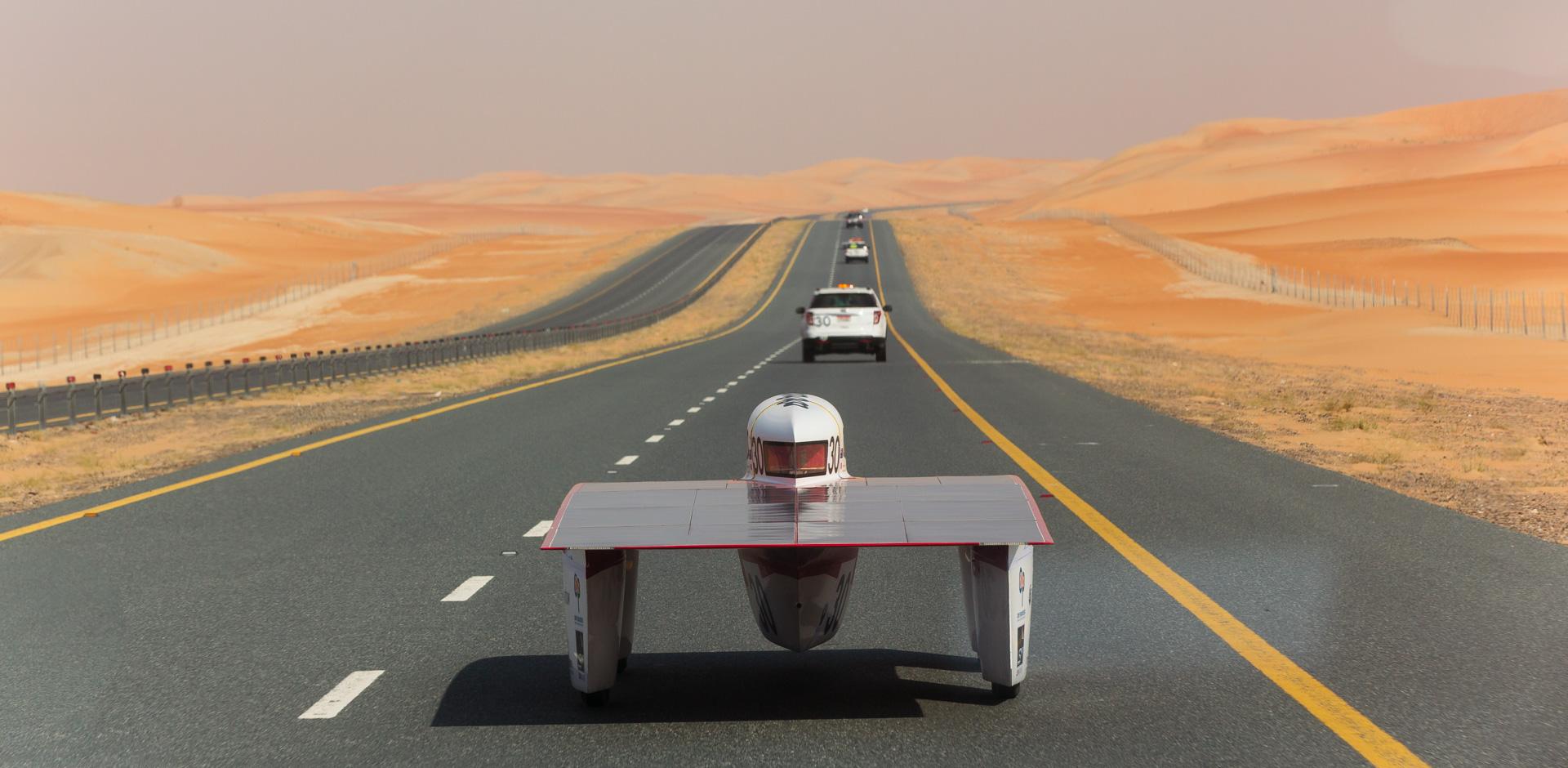 Photo of Tritium in World Solar Challenge